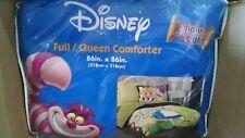 Disney Alice in Wonderland Full/Queen Comforter and Pillowcase Jay Franco Green