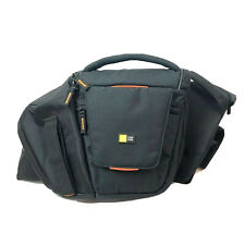 Case Logic Sling Shoulder Camera Bag Pack DSLR SLR SLRC-205 Black Padded Euc