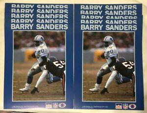 (10) Barry Sanders Detroit Lions Starline 8x10 Mini Poster - NFL Football