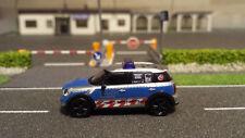 Mini Cooper Cross Country von Herpa Polizei Hamburg 1:87  HH-7479