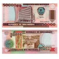 Pick 138 Mosambike /  Mozambique 50000 Meticais 1993  Unc. / 656912vvv