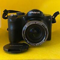 Polaroid iX 6038 Black Digital Camera - 60X Optical Zoom - For Parts Not Working