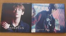 EXO Coming Over BAEKHYUN Cover 2 CD set 1st Limited Concert Hall Limited K-POP