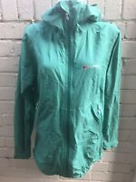Women's Berghaus Jacket Size 16 Hydroshell Waterproof With Hood Green