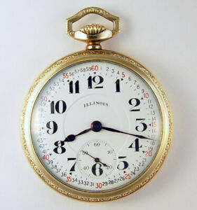 ILLINOIS BUNN SPECIAL 23 JEWEL 16S LAST SERIAL NUMBER MODEL 11 POCKET WATCH MADE