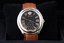 bonito reloj alta gama VERSACE ORIGINAL NUEVO lujo hombre correa cocodrilo
