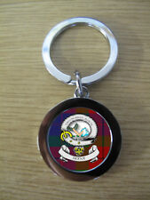SKENE CLAN KEY RING (METAL) IMAGE DISTORTED TO PREVENT INTERNET THEFT