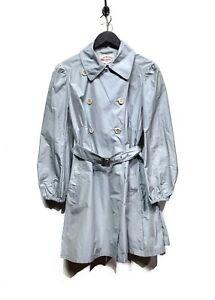 Prada Baby Blue Trench Coat
