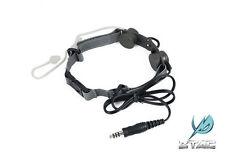 ZTactical Tactical Throat Mic Headset (FG) Z033-FG