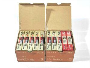 【NEW 120min x8 / 60min x2】SONY Hi8 ME Video Cassette Tape MADE IN JAPAN #734-2