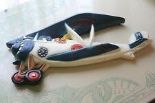 Amelia Earhart Chalkware Plane Wall Object