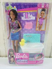 Barbie Babysitters Inc Dolls + Bath Tub