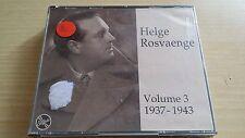 HELGE ROSVAENGE - VOLUME 3 1937-1943 - 2 CD SIGILLATO (SEALED)