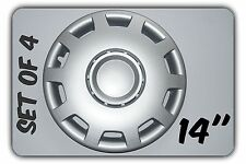 "SET OF 4 14"" FIAT SCUDO,FIORINO,QUBO  WHEEL TRIMS COVER,RIMS,HUB,CAPS  +GIFT #6"