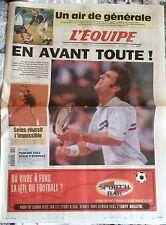 L'Equipe Journal du 5/6/1998; Pioline- Corretja/ Selles/ Pantani/ Finlande-Franc