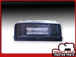 LED-Kennzeichenleuchte 100mm x 40mm für Traktoren, Schlepper und Oldtimer