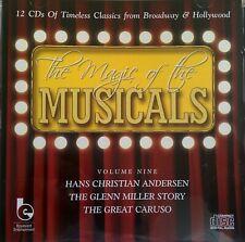NEW - HANS CHRISTIAN ANDERSEN GLENN MILLER GREAT CARUSO Original Film Music CD