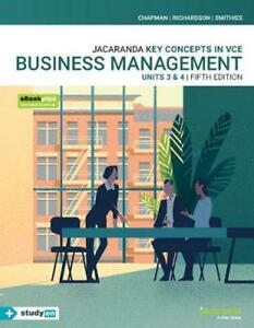 Jacaranda Key Concepts in VCE Business Management Units 3 & 4 / 5th Edition Book