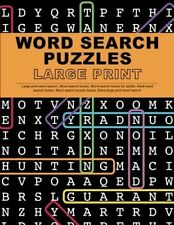 Word Search Puzzles Large Print: Large print word search, Word search books