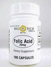 Bio-Tech  Folic Acid 20 mg 100 caps