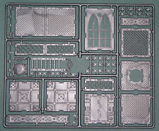 SYBERCLICKS FORTRESS - ONE SPRUE for 28-54mm (hard plastic)