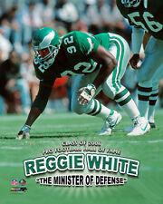 Reggie White MINISTER OF DEFENSE Philadelphia Eagles Premium Poster Print