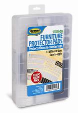 Furniture Pads Self Adhesive Felt Rubber/Foam Floor Scratch Protector 272 Pcs