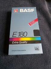 2 X Basf E-60 Ccm Prof Vhs Videokassetten Ovp Verschweißt Leer Blank Tapes Tv- & Heim-audio-zubehör Filme & Dvds
