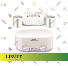 Hi Lift Kompact Twin Wax Heater Pot Removable Ceramic Insert 1 Litre & 1 Litre