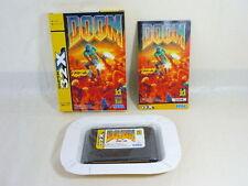 DOOM Mega Drive Super 32X SEGA Import Japan Game md