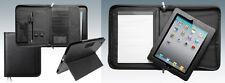 Leather iPad Case/ Executive Conference Portfolio Folder/Detachable ipad holder