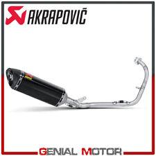 Scarico completo Akrapovic Racing Line Carbonio per YAMAHA YZF-R 125 2008 > 2013