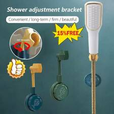 Universal Wall-Mounted Shower Head Holder Bracket Adjustable Holder Bathroom$1Pc