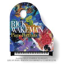 Piano Portraits 0602557236279 by Rick Wakeman CD