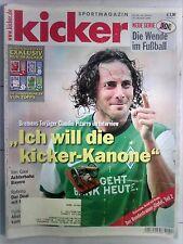 kicker Sportmagazin Nr.: 88 /44. Woche  vom 26.Oktober 2009