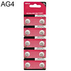 10X AG4 LR626 377 SR626 177 1.5V Alkaline Button Coin Cells Watch Battery Sturdy