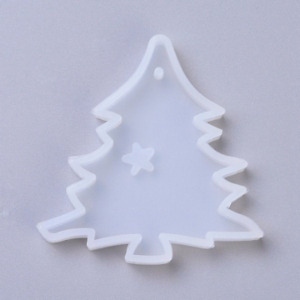 Christmas Tree Mold, Silicone Molds for Epoxy Crafts, Resin Craft Molds, Epoxy