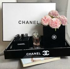 Chanel XXL Serviertablett, Tray Makeup Organizer SIEHE VIDEO UNTEN