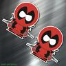 (2) TWO Deadpool Southpark Vinyl Decal Sticker For Car Laptop Skateboard NEW!