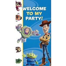 Toy Story Welcome to My Party Door Banner Decoration 85 X 165cm
