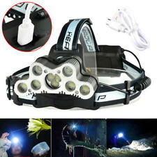 120000LM LED Rechargeable Headlight Torch T6 Headlamp Head Light Lamp USB 18650