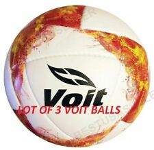 Lot Of 3 Voit official match Soccer Balls Nova Liga Bancomer Mx Apertura 2018-19