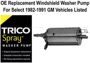 Windshield / Wiper Washer Fluid Pump - Trico Spray 11-512