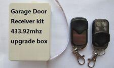 B&D 70DL TX-D Garage Door Remote Upgarde Receiver Kit 433.92 Bnd with 2 Remote