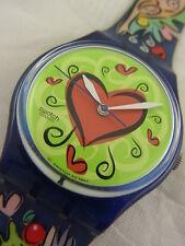 GN176 Swatch 1998 Love Bite Valentine's Day Adam Eve