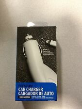 Apple iPhone 5 5s/Apple iPad Mini/ new iPod Touch - White Automobile Car Charger