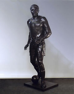 "Original Unique Bronze Monumental ""Soccer Player""  Anatoly S. Mikhailov  Signed"