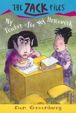 The Zack Files: My Teacher Ate My Homework 27 by Dan Greenburg (2002, Paperback)