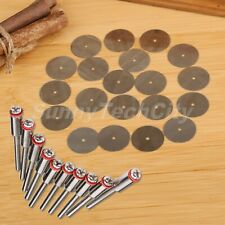 22mm Cut Off Wheel Saw Blade Disc & 2.35mm Mandrel Rotary Power Tool Accessories