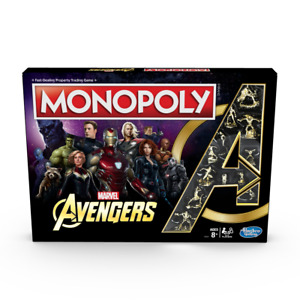 Marvel - Avengers Monopoly Board Game - Loot - BRAND NEW